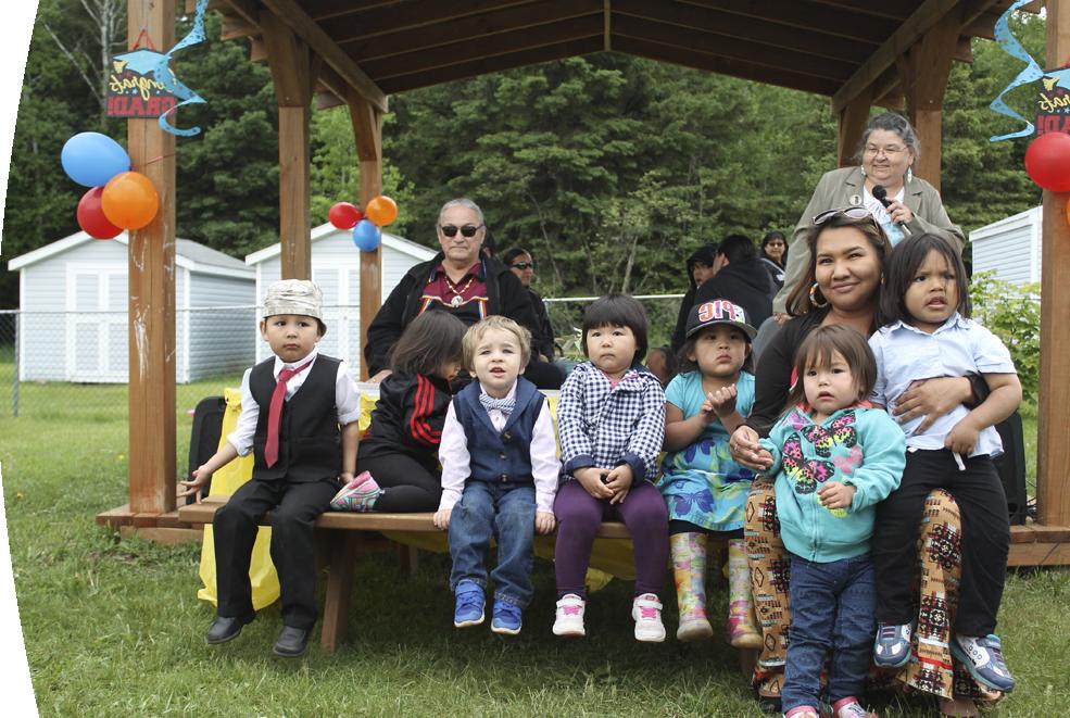 Aboriginal Headstart Group Photo
